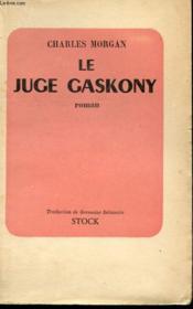 Le Juge Gaskony - Couverture - Format classique
