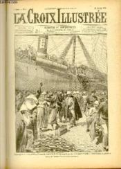 LA CROIX ILLUSTREE N° 8 - Deuxième année - Débarquement des soldats Français ramenés de Chine par le navire des pèlerinages