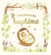 Tendres prières de mon baptême - Couverture - Format classique