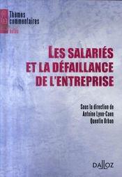 Les salariés et la défaillance de l'entreprise - Intérieur - Format classique