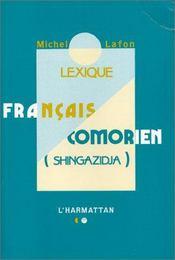 Lexique Francais Comorien (Shingazidja) - Intérieur - Format classique