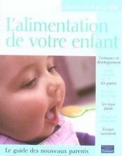 L'alimentation de votre enfant - Intérieur - Format classique