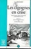Les cigognes en crise desir d'enfant, ethique relationnelle... - Couverture - Format classique