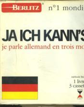 Ja Ich Kann'S Livre-Cassette - Couverture - Format classique