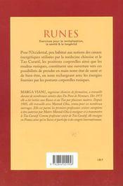 Runes - 4ème de couverture - Format classique