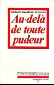 Au-Dela De Toute Pudeur - Couverture - Format classique