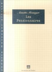 Les pensionnaires - Couverture - Format classique