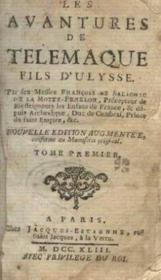Les aventures de telemaque , fils d'Ulysse-tome 1 - Couverture - Format classique