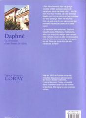 Daphné, la révélation d'une femme de valeur - 4ème de couverture - Format classique