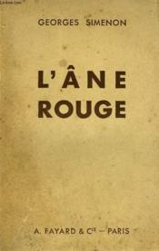 L'Ane Rouge. - Couverture - Format classique