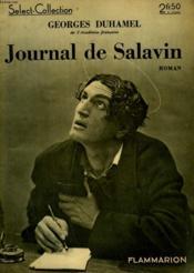 Journal De Salavin. Collection : Select Collection N° 122 - Couverture - Format classique