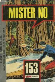 Mister No N°153 - Couverture - Format classique