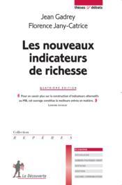 Les nouveaux indicateurs de richesse (4e édition) - Couverture - Format classique