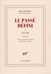 Le passé défini t.1 - Couverture - Format classique
