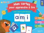 Mes cartes pour apprendre à lire avec Léon le hérisson - Couverture - Format classique