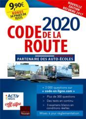 Code de la route (édition 2020) - Couverture - Format classique