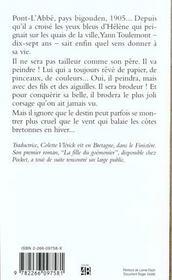 Le brodeur de Pont-l'Abbé - 4ème de couverture - Format classique