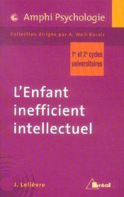 L enfant inefficient intellectuel-amphi - Intérieur - Format classique