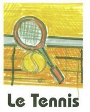 Le Tennis - Couverture - Format classique