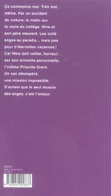 Un Boulot D'Enfer (Ne) - 4ème de couverture - Format classique
