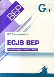 Ecjs ; bep - Intérieur - Format classique