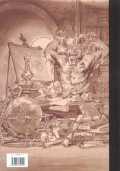 Encyclopédie anarchique du monde de Troy T.2 ; les trolls - 4ème de couverture - Format classique