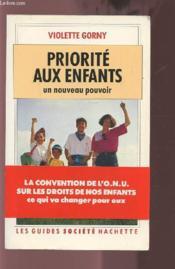 Priorite Aux Enfants - Couverture - Format classique