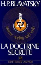 La doctrine secrète t.2 - Couverture - Format classique
