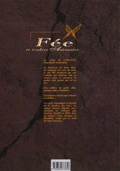 Fée et tendres automates t.1 ; Jam - 4ème de couverture - Format classique