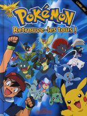 Pokémon ; retrouve-les tous ! - Intérieur - Format classique