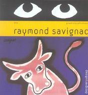 Raymond Savignac, graphiste affichiste - Intérieur - Format classique