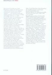 De Raphaël a la révolution ; les relations artistiques entre la France et l'Italie - 4ème de couverture - Format classique