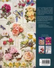 Roses au ruban et au relief - 4ème de couverture - Format classique