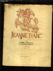 Jeanne D'Arc. - Couverture - Format classique