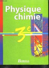 Physique-Chimie 3eme Vento - Couverture - Format classique