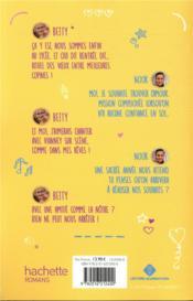 Betty ; demain nous appartient T.2 ; Betty et Noor, une amitié éternelle - 4ème de couverture - Format classique