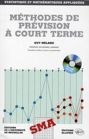 Methodes de prevision a court terme. 2e edition - Intérieur - Format classique