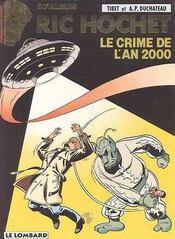 Ric Hochet T.50 ; le crime de l'an 2000 - Intérieur - Format classique