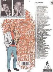 Ric Hochet T.50 ; le crime de l'an 2000 - 4ème de couverture - Format classique