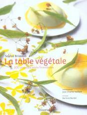 Table vegetale (la) - Intérieur - Format classique