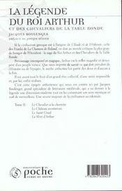 Legende du roi arthur t.2 - 4ème de couverture - Format classique