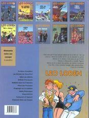Léo Loden t.10 ; testament et figatelli - 4ème de couverture - Format classique