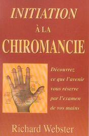 Initiation a la chiromancie - Intérieur - Format classique