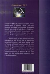 2008, au-delà du voile, des illusions et de la confusion ; l'année de l'unité - 4ème de couverture - Format classique