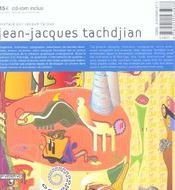Jean-Jacques Tachdjian - 4ème de couverture - Format classique