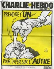 Charlie Hebdo N°515 - Prendre L'Un Pour Taper Sur L'Autre - Couverture - Format classique