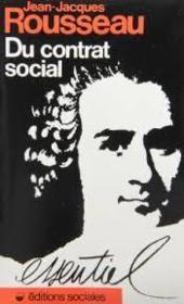 Du contrat social - ou principes du droit politique - Couverture - Format classique
