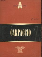Carpaccio - Peintres - Couverture - Format classique