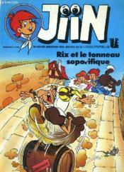Jiin - Rix Et Le Tonneau Soporifique - Couverture - Format classique