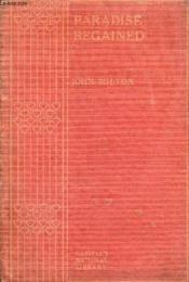 Paradise Regained, And Samson Agonistes - Couverture - Format classique